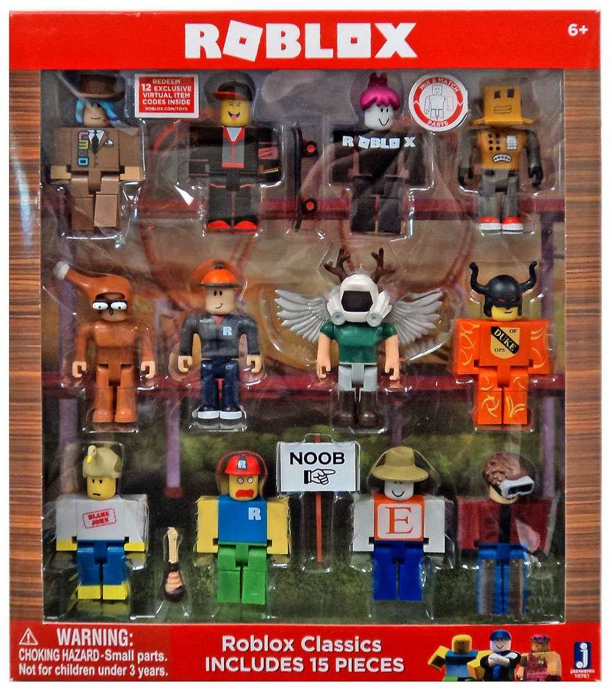 15and Up Toys For Everyone : Roblox deluxe classics series figures new toys