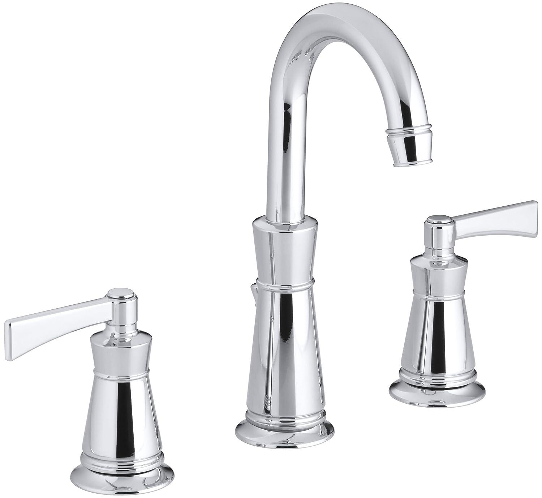 KOHLER K 4 CP Archer Lavatory Faucet with 8 Inch Centers