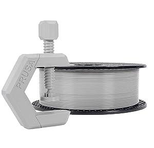 Prusament Urban Grey, PETG Filament 1.75mm 1kg Spool (2.2 lbs), Diameter Tolerance +/- 0.02mm