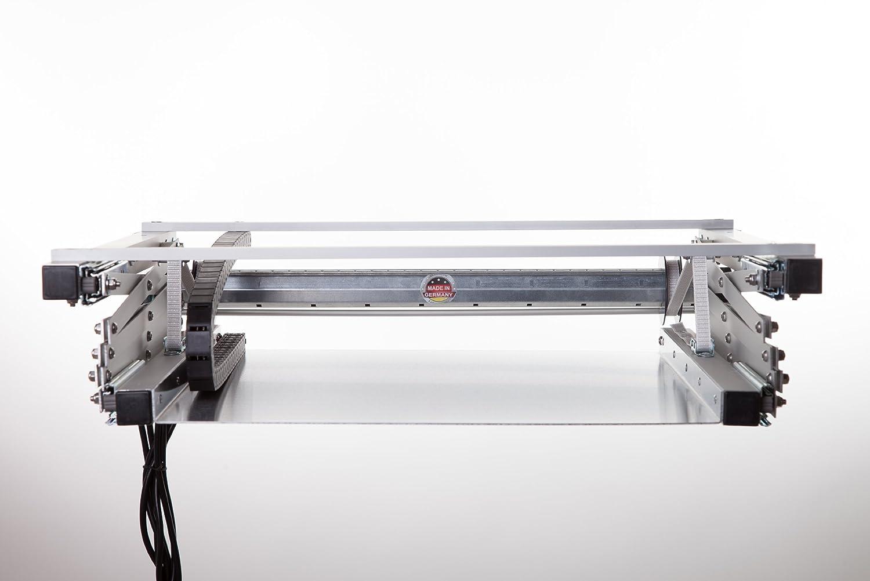 Weber - Elevador de proyector (100 cm, incluye mando a distancia ...