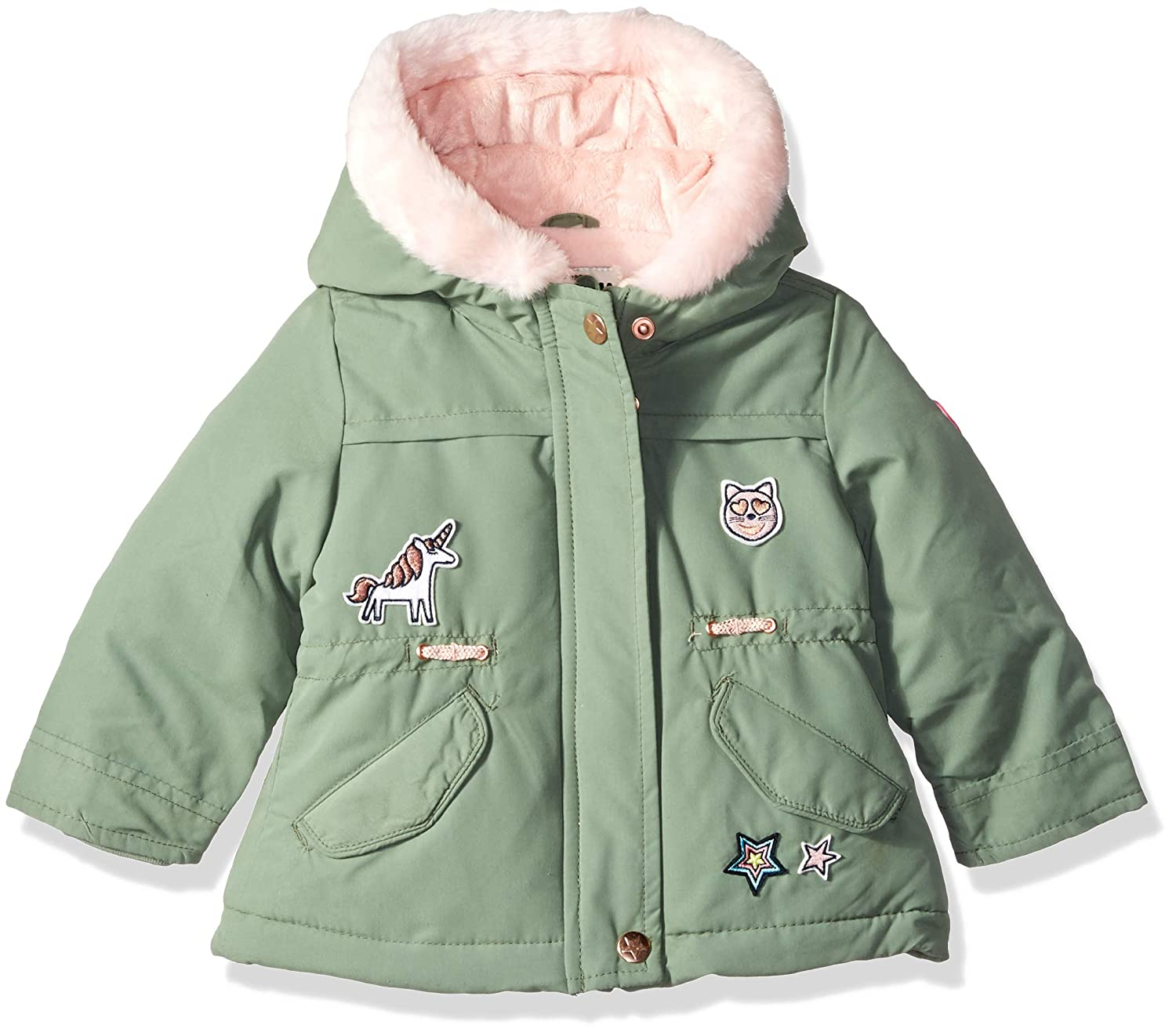OshKosh B'Gosh Baby Girls Pretty Cool Parka Jacket Osh Kosh B218536