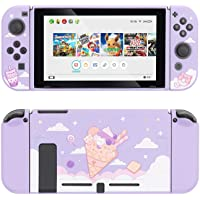GeekShare Protective Case for Switch, Soft TPU Slim Case Cover Compatible with Nintendo Switch Console and Joy-Con (Ice…