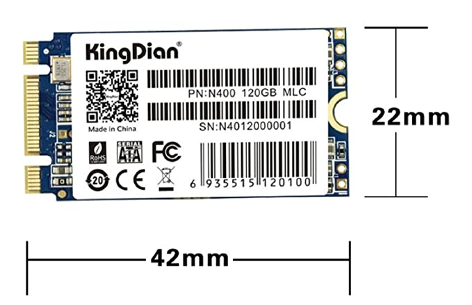 KingDian M 2 NGFF 22 * 42mm 240GB M 2 2242 Solid State Drive Disk for  Desktop PCs and MacPro (22 * 42mm 240GB) (N400 240GB)