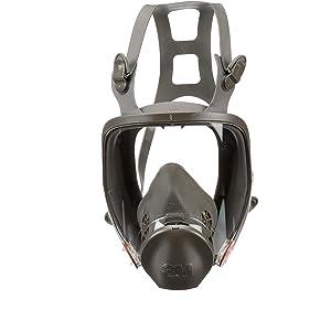 3M Full Facepiece Reusable Respirator 6800/54146, Respiratory Protection, Medium (Pack of 1)