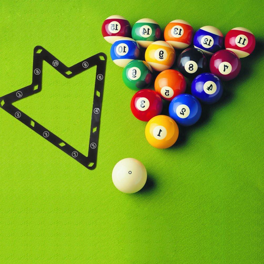 NewShot Juego de 6 láminas de Estante mágico para Billar de Bolas 8/9/10: Amazon.es: Deportes y aire libre