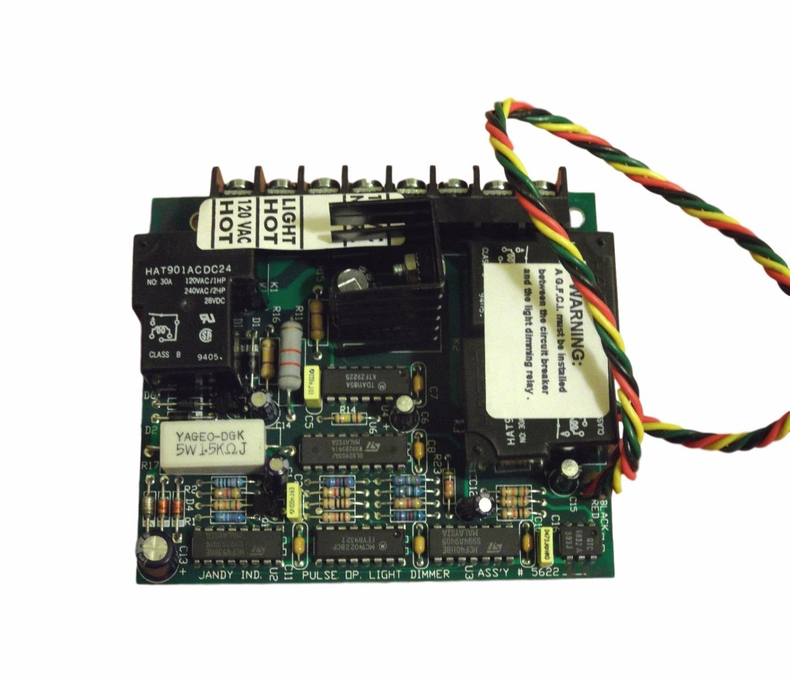 Jandy 6116 AquaLink RS Light Dimming Relay Module Older Style Board by Jandy