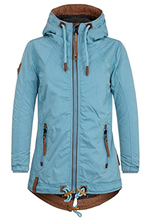 Naketano Female Jacket Arsch im Ärmel Dirty Turquoise, XS