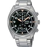 Seiko herren armbanduhr xl chronograph titan snn237p1