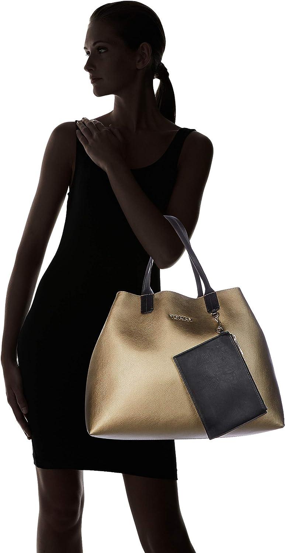 Multicolore Cabas femme Gold//Black Mix 15.3x30.5x43.2 cm W x H L Tommy Hilfiger Iconic Tote