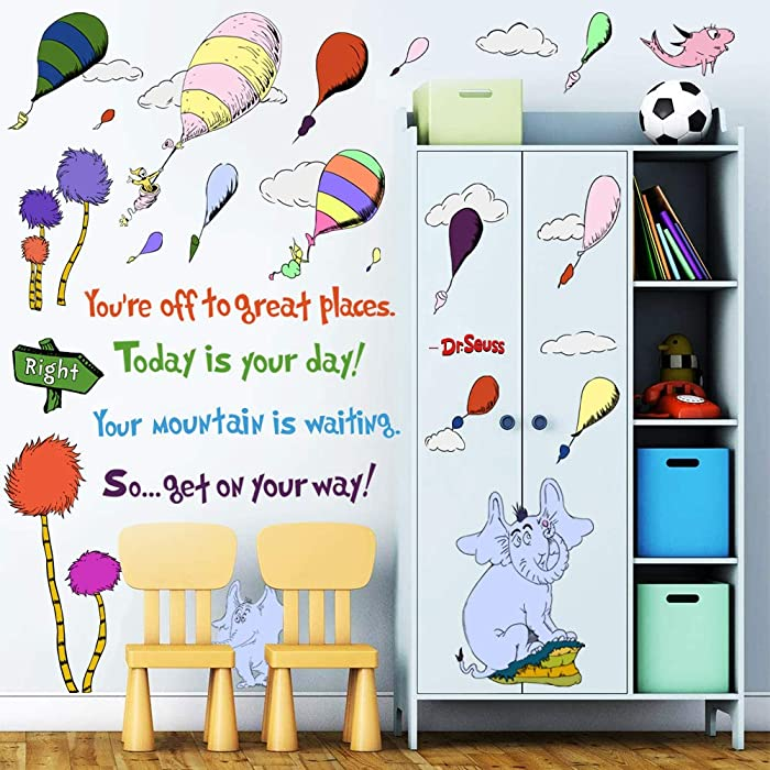 The Best Dr Suess Bedroom Decor
