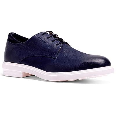 Anthony Veer Men's Calvin Hybrid Leather Suede Lightweight Comfort Lace-up Dress Shoe | Oxfords