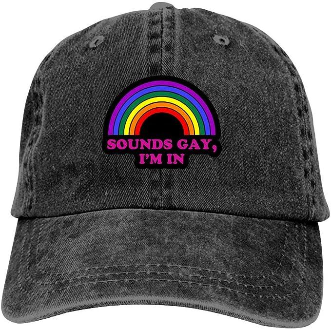 Sounds Gay Im in Cap Men Winter Summer Serious Style Beanie Hats Winter Beanie