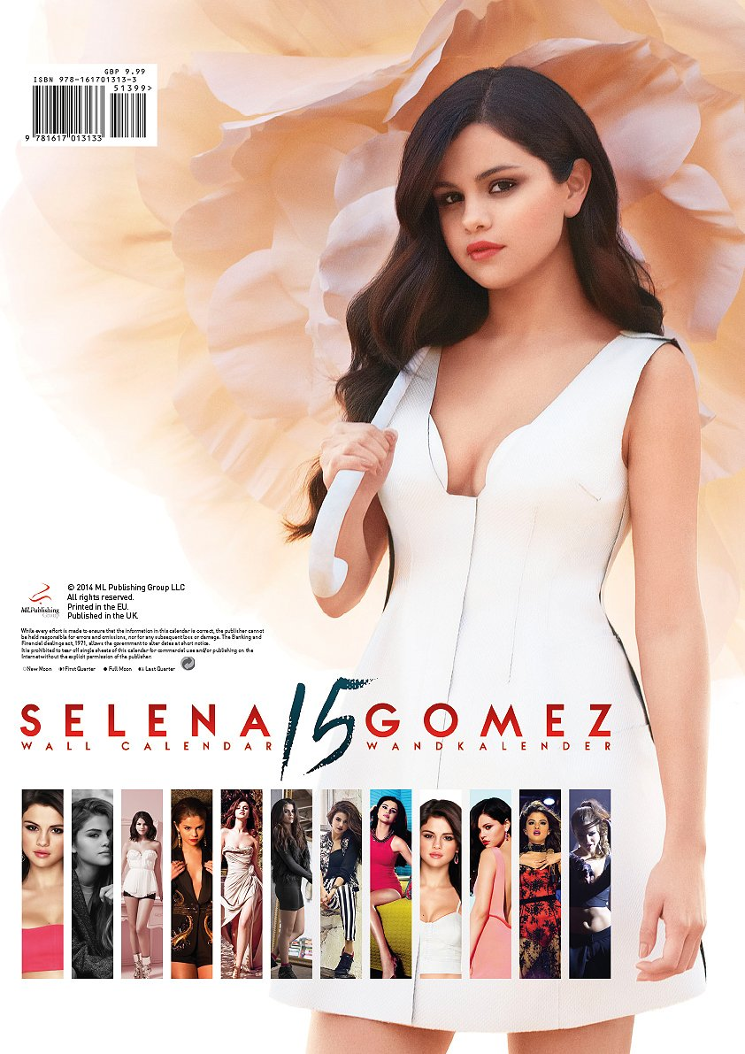 Fashion week Gomez Selena calendar pictures for woman