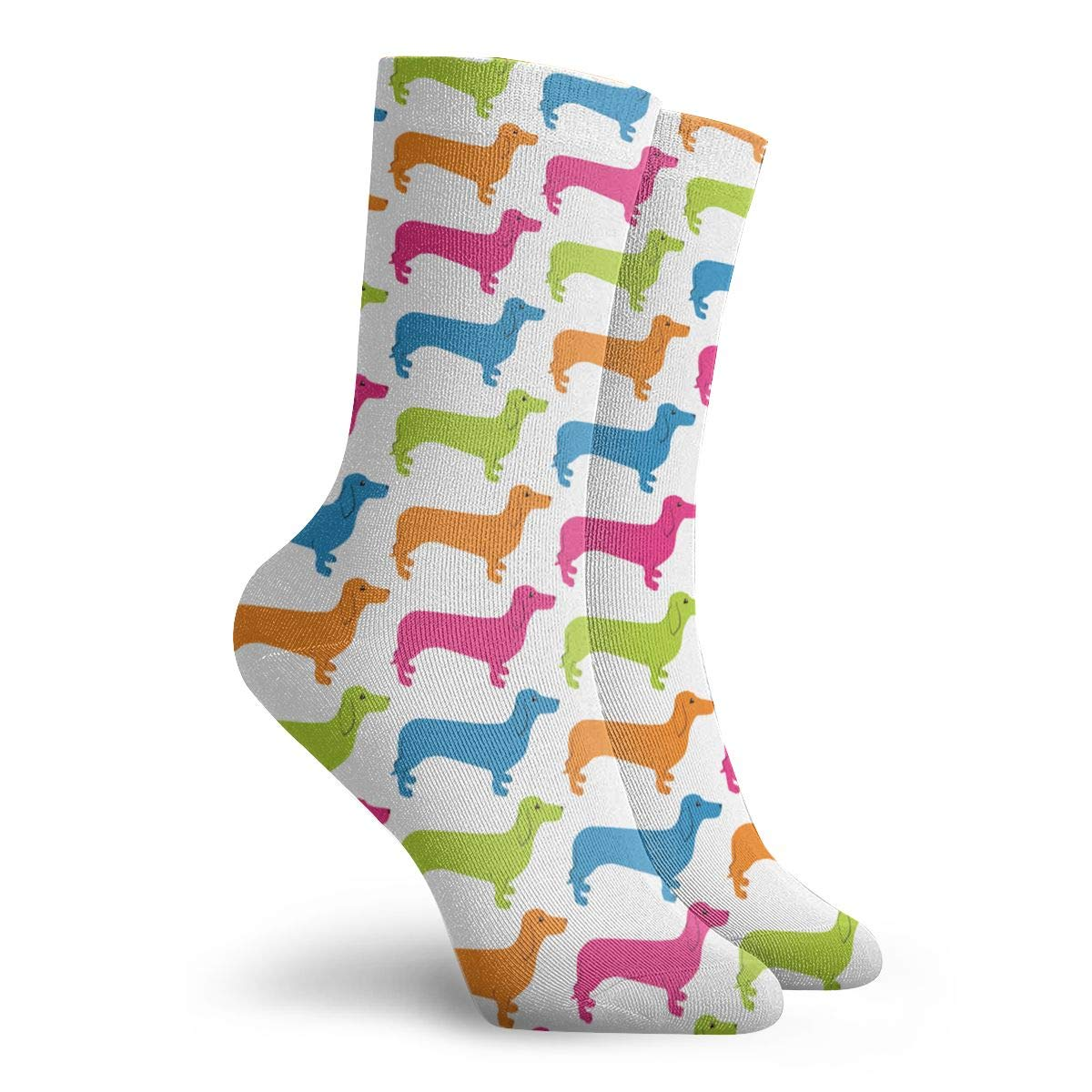 Patterns Kid-Dog Unisex Funny Casual Crew Socks Athletic Socks For Boys Girls Kids Teenagers