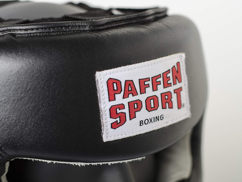 Muay Thai Paffen Sport PRO Kopfschutz f/ür das Sparring im Boxen Kickboxen etc.