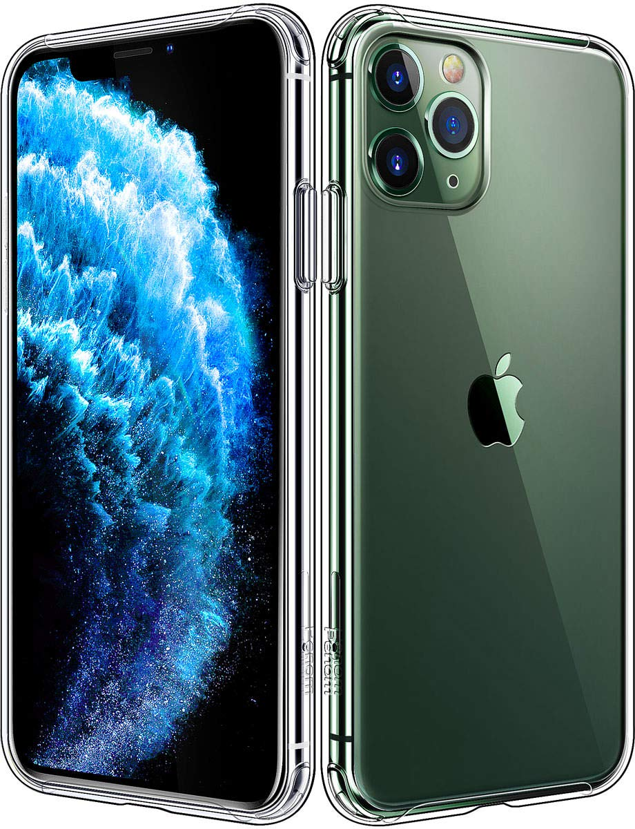 Penom Compatible with iPhone 11 Pro Max Case, Clear iPhone 11 Pro Max Cases for 6.5 Inch