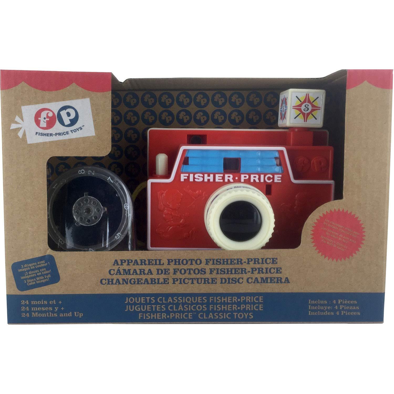 Fisher Price APPKK01 - Cámara Digital para niños (APPKK01) (versión en francés) - Cámara Vintage, Juguete A Partir de 4 años