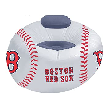 Awe Inspiring Amazon Com Mlb Boston Red Sox Inflatable Chair Sports Inzonedesignstudio Interior Chair Design Inzonedesignstudiocom