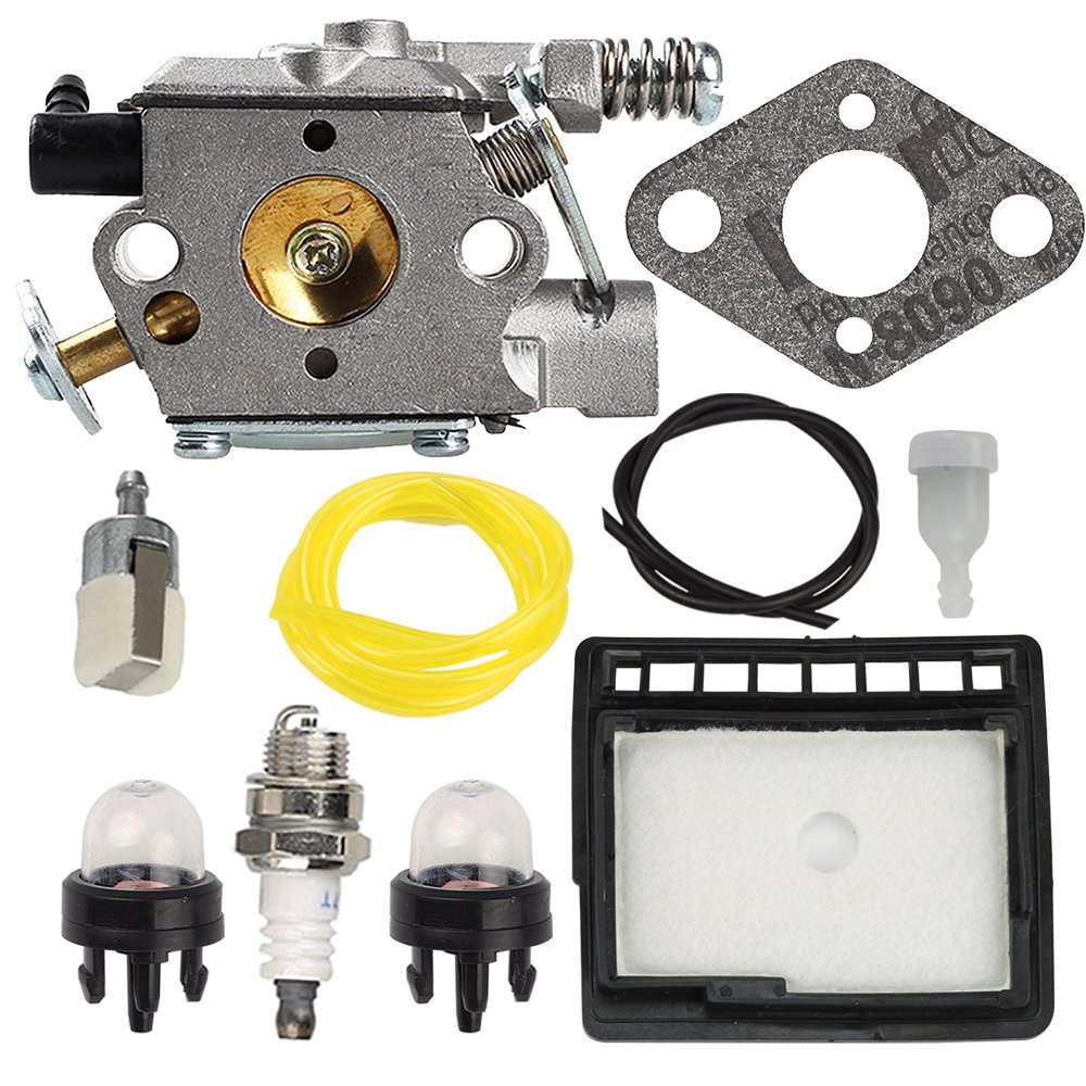 Anzac WT-589 Carburetor Air Fuel Filter Tune-Up Kit for Echo CS-300 CS-301 CS-305 CS-340 CS-341 CS-345 CS-346 CS-3000 CS-3400 Gas Saw Chainsaw by Anzac