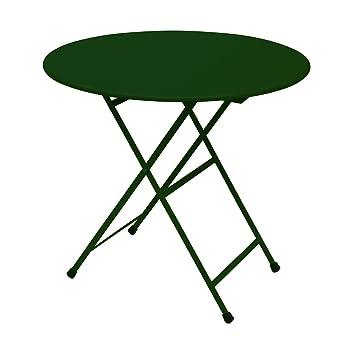 Emu Verde Cm80 En Arc Ciel Mesa Redonda Color Plegable Art346 4cAR5jS3Lq