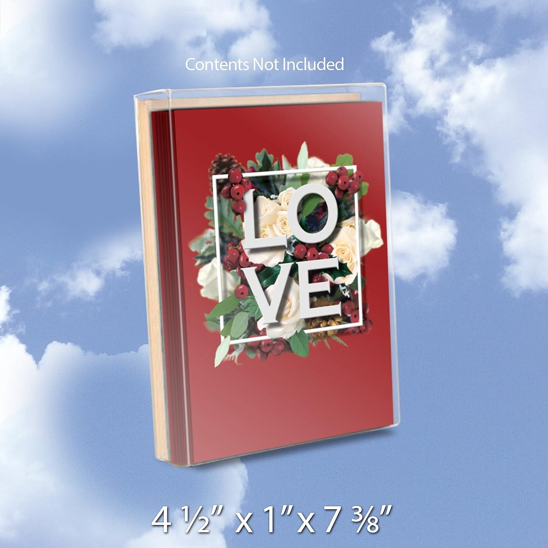 Amazon Box4 12x1x5 78 B50 Clear Box Fits A2 Envelopes
