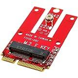 Ableconn MPEX-M2WL Mini PCIe Adapter M.2 Key E Slot - Support PCIe USB Based M.2 E Key A-E Key Module Mini PCI Express…