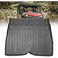 kemimoto Rubber Bed Mat Liner, TPE Rear Cargo Bed Liner Mat Compatible with Honda Pioneer 1000 M5 2016 2017 2018 2019…