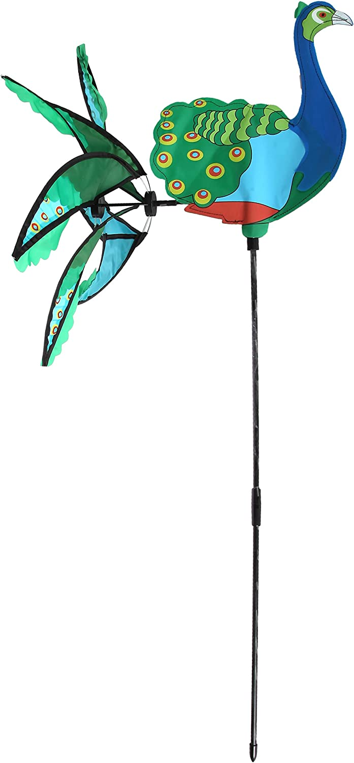 Mail Order Direct Peacock Wind Spinner