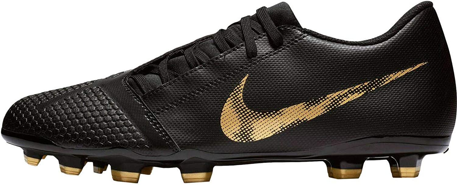 Nike Men's Phantom Venom Club FG Soccer Cleats (Black/White/Gold) 71eFMM5NDoL