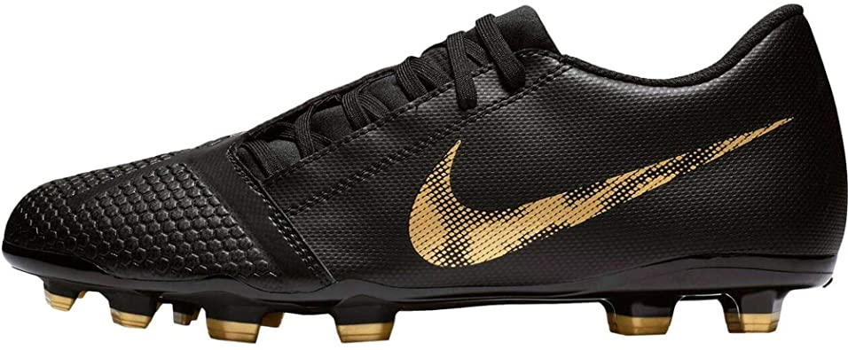 Tender Inconcebible mueble  Amazon.com | Nike Men's Phantom Venom Club FG Soccer Cleat (9.5 M US,  Black/Metallic Vivid Gold) | Soccer
