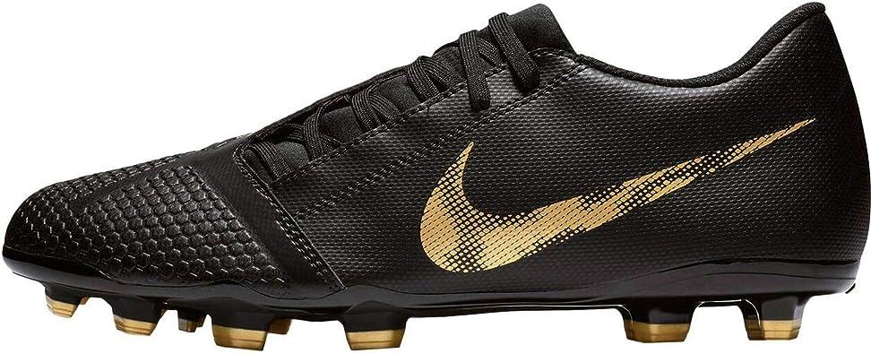 Nike Men's Phantom Venom Club FG Soccer Cleat Black/Metallic Vivid Gold  Size 8 M US