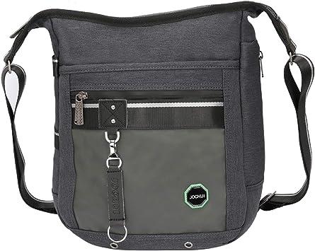 Men Oxford Waterproof Vertical Shoulder Bag Crossbody Satchel Messenger Bag New