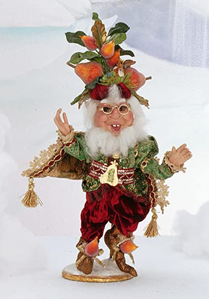 mark roberts partridge in a pear tree christmas elf small 14 - Mark Roberts Christmas