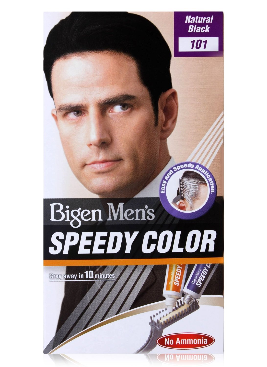 Bigen Men\'s Speedy Colour (Natural Black) 101: Amazon.co.uk: Beauty