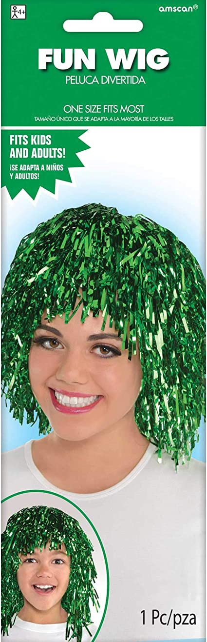 FANCY DRESS WIG//HAIR PIECE Kid//Adults//Fun//Party//Colour//Character AMSCAN