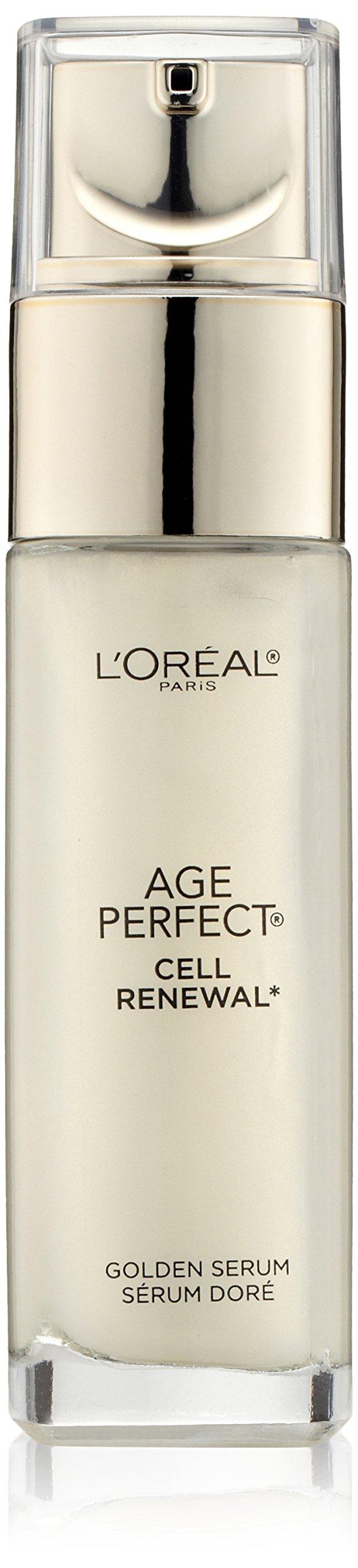L'Oréal Paris Age Perfect Cell Renewal Golden Face Serum, 1 fl. oz. by L'Oreal Paris