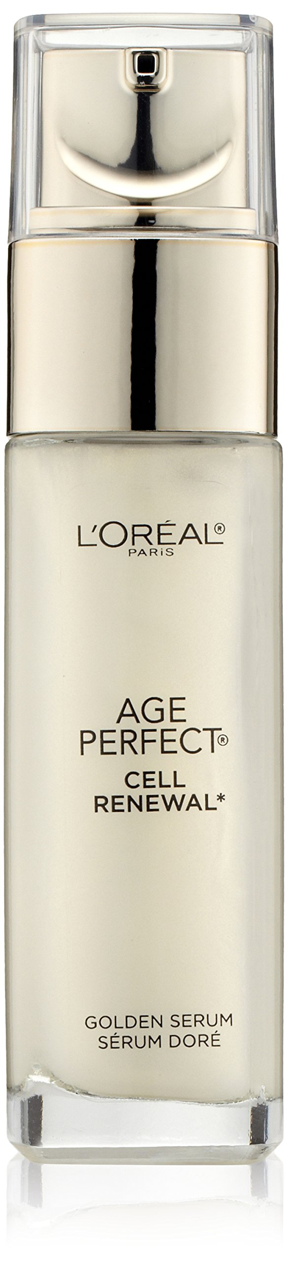 L'Oreal Paris Skincare Age Perfect Cell Renewal Golden Face Serum, Anti-Aging Serum to Refine, Exfoliate and Replump Mature Dull Skin, 1 fl. oz.