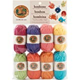 Lion Brand Yarn Company 1-Piece Bonbons, Brights, Multi-Colour