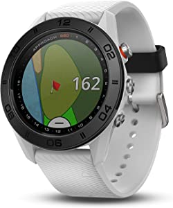 Garmin Approach S60, Premium GPS Golf Watch with Touchscreen Display and Full Color CourseView Mapping, White