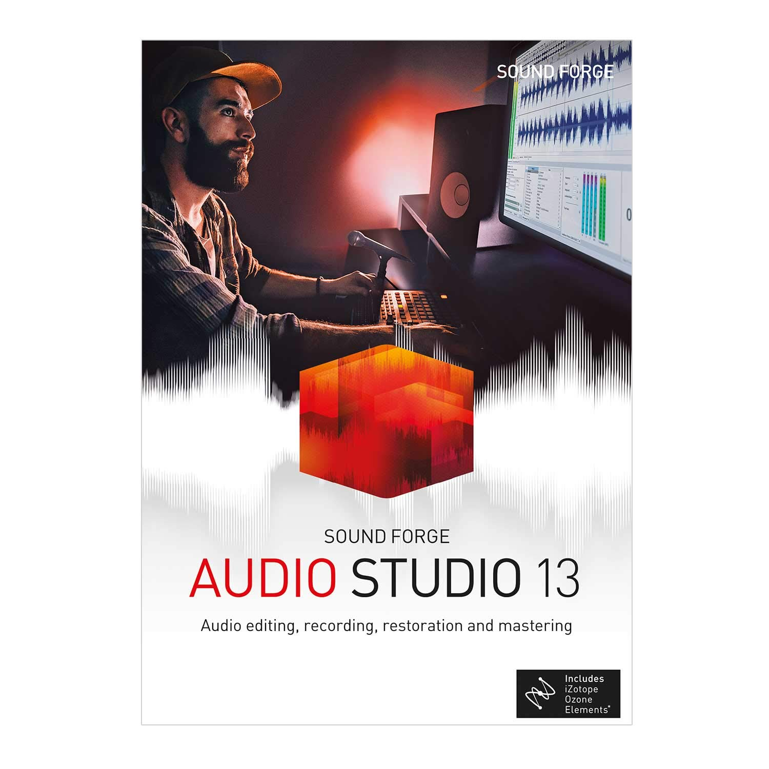 SOUND FORGE Audio Studio - Version 13- audio editing, recording, restoration and mastering in one. [PC Download] by SOUNDFORGE