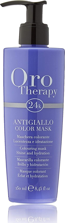 Fanola Oro Therapy - Máscara colorante para brillo e hidratación, 250 ml