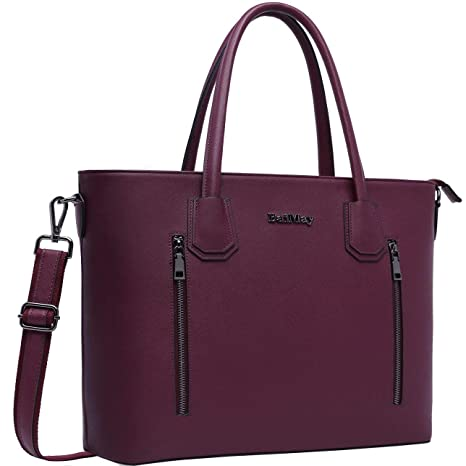 1df5b60e275 Laptop Bag for Women,15-15.6 Inch Laptop Tote Bag Briefcase Tablet Bag Work  Office Bag with Sturdy Top-Handles for Business/School/Travel