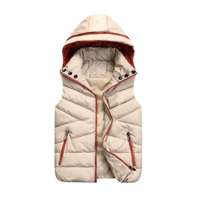 a9785cce4f02 Amazon.com  Nelliewins Children New Child Down Vest Cotton Vest Boys ...