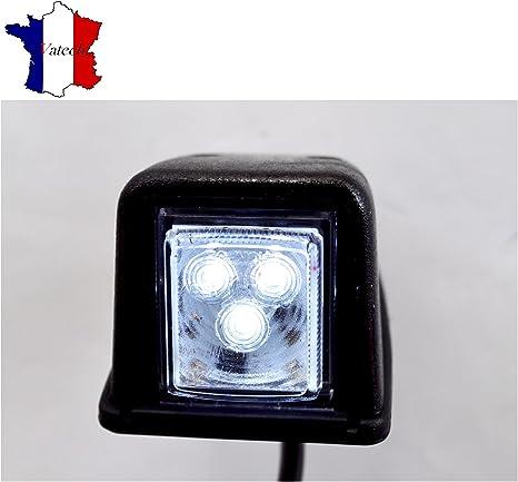 4X 12V LED FEUX DE GABARIT LATERAUX BLANC POUR MAN SCANIA