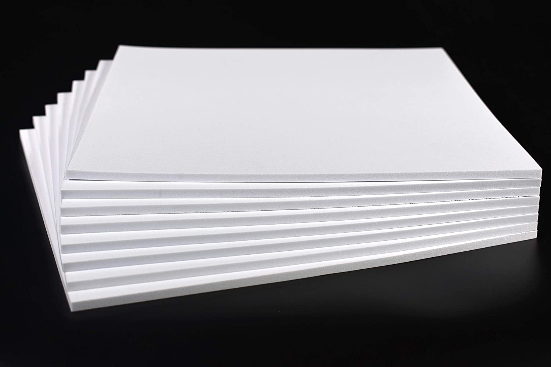 Craft Foam Sheets EVA Foam Sheets, 9 6×9 6 inches, 8 Pack