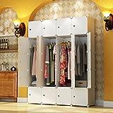 KOUSI Portable Closet Wardrobe Bedroom Armoire Storage Organizer With Doors,  Capacious U0026 Sturdy. 20