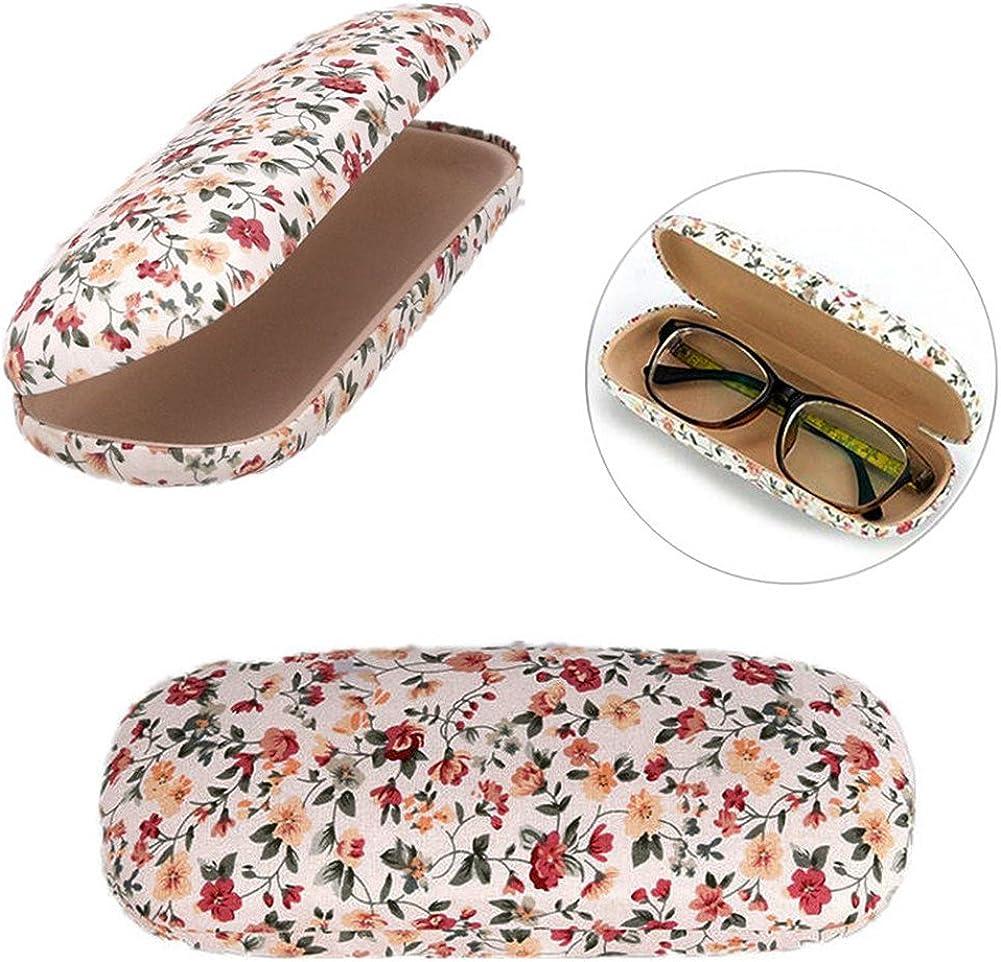 Demarkt Brillenetui Brillenbox Brillen Schutztasche Brillenetui Hardcase mit Rei/ßverschluss
