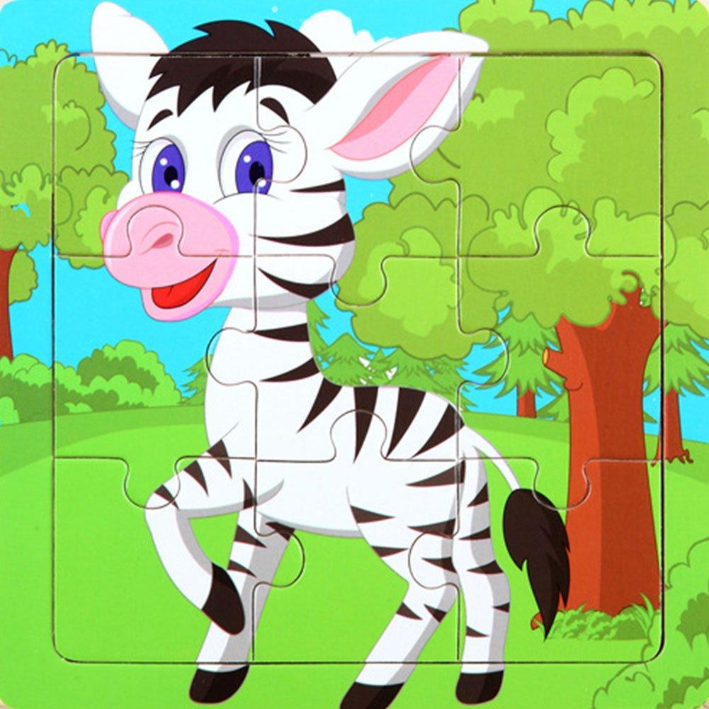 激安価格の ETbotu 3D動物パズル 子供早期教育玩具 木製カートゥーンリーニング 1~5歳の男の子と女の子のギフトに ゼブラ ZTT-20181003-HOME-YZZ-22 ZTT-20181003-HOME-YZZ-22 ゼブラ ETbotu B07HZ2MN1W, 生活雑貨 ココ笑店:88486496 --- a0267596.xsph.ru
