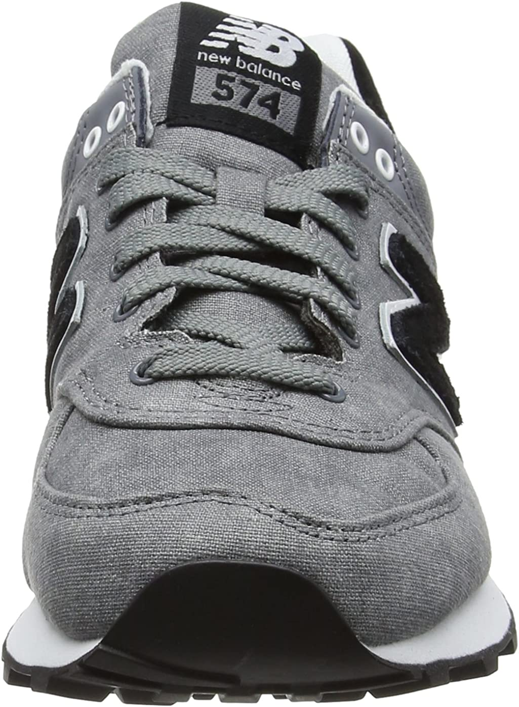 New Balance WL574SWC B - Zapatillas para Mujer, Gris (Grey), 35 EU: Amazon.es: Zapatos y complementos