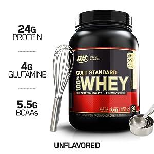 Optimum Nutrition 100% Whey Protein Powder